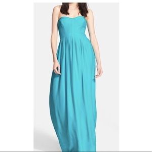 e5493d658f Blue maxi prom dress size XS from Parker